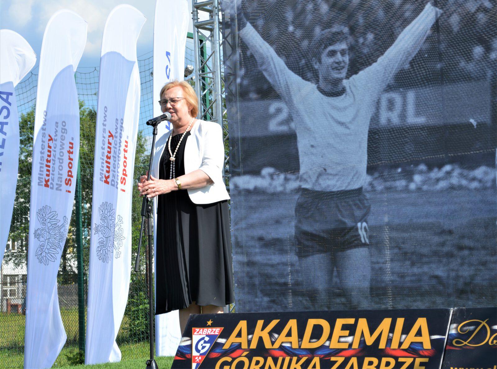 Gratulacje od prezydent Zabrza Małgorzaty Mańki- Szulik dla uczestników