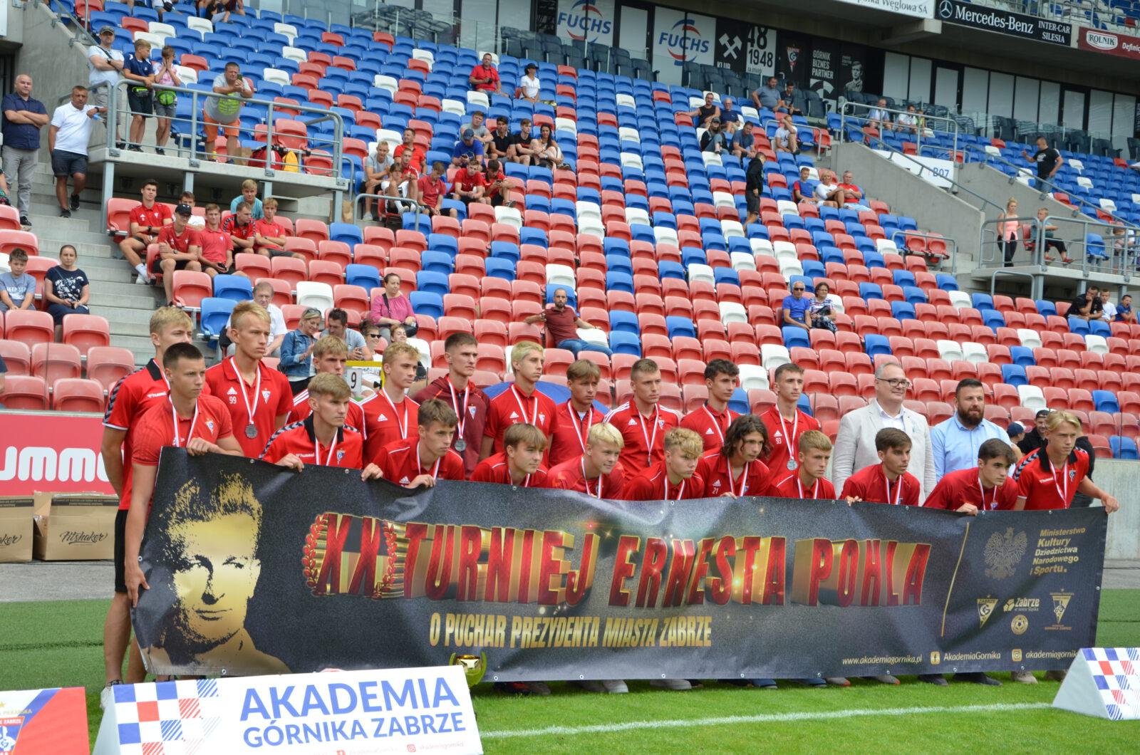 III miejsce zdobyło KGHM Zagłębie