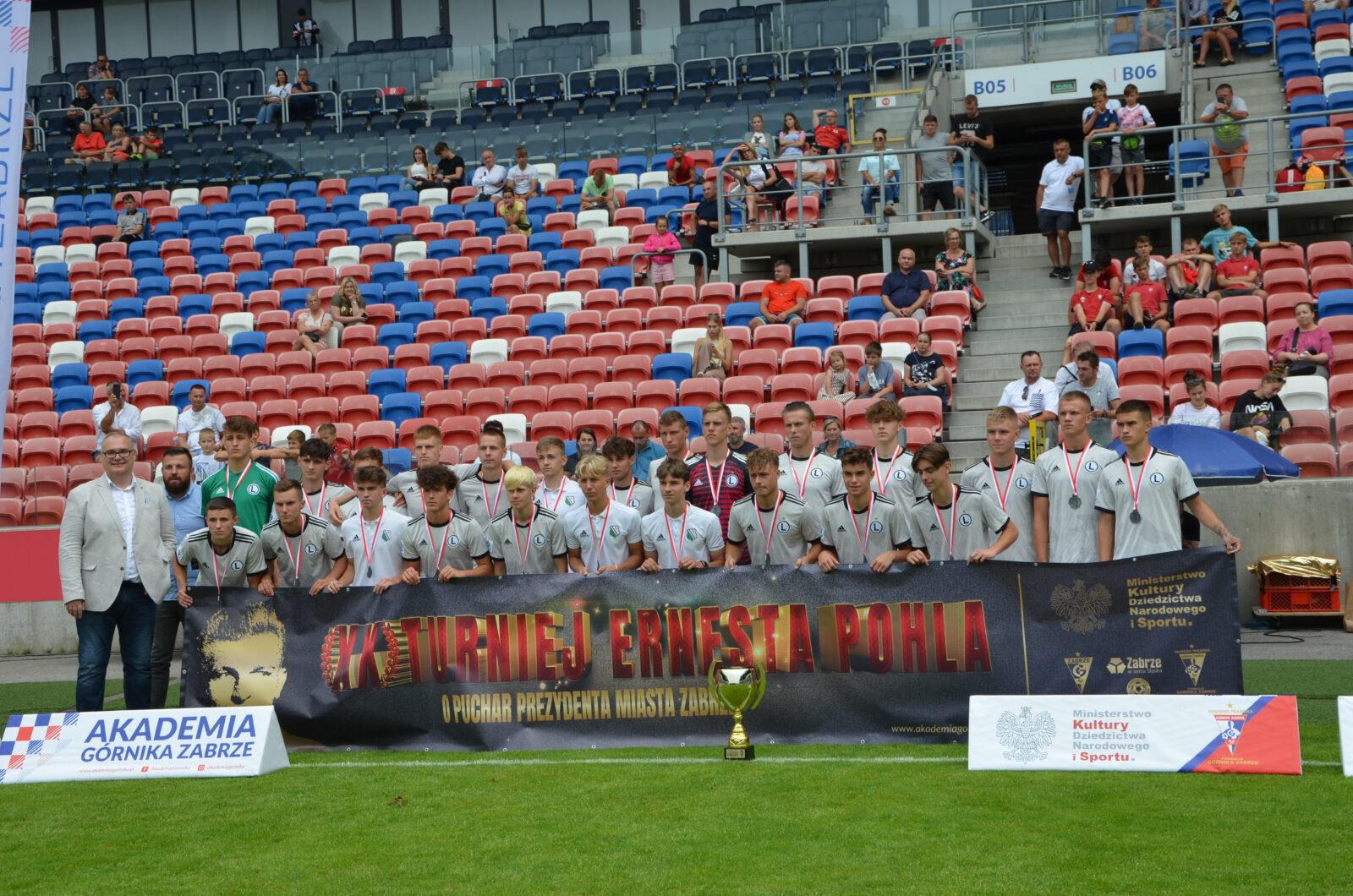 Legia Warszawa została wicemistrzem turnieju